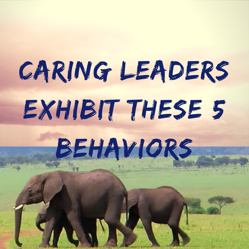 Caring Leaders Exhibit These 5 Behaviors