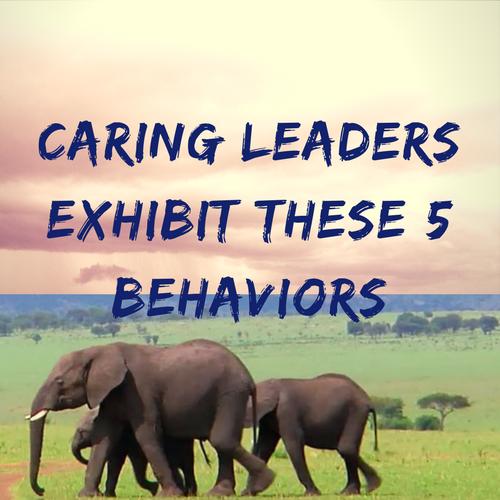 Caring Leaders Exhibit These 5 Behaviors